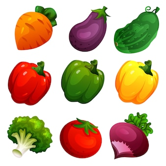 Simpatico set di verdure