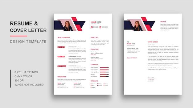 Cv o modello di curriculum con lettera di presentazione