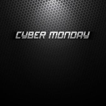 Sfondo di cyber monday