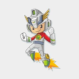Supereroe cyborg