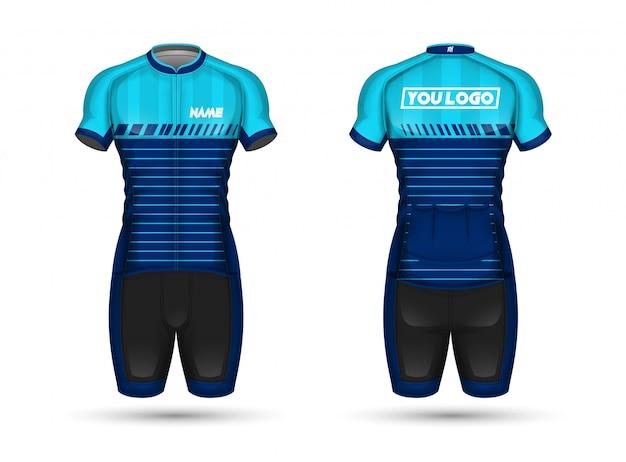 Camicia in maglia ciclo Vettore Premium