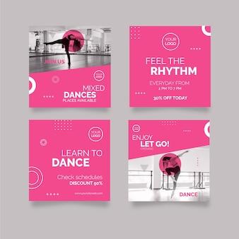 Post di instagram danzanti