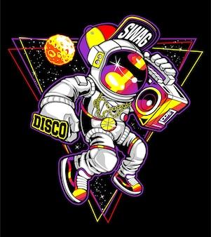 Ballando sulla luna