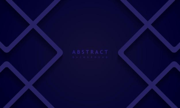 Sfondo blu scuro con concetto di banner blu struttura solida