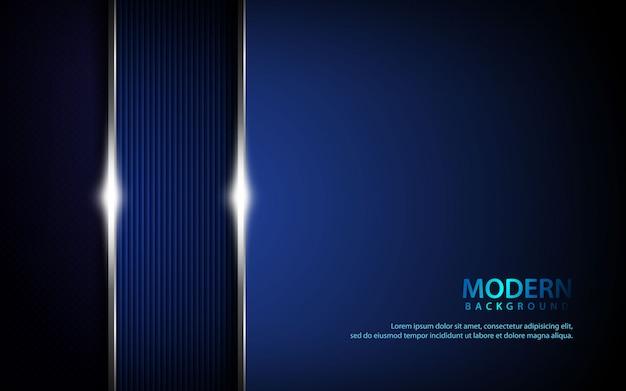 Sfondo verticale metallico blu scuro