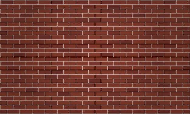 Priorità bassa del muro di mattoni marrone o rosso scuro.