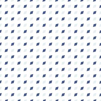 Modello senza cuciture a forma di dimoand quadrato blu scuro e chiaro, sfondo controllato