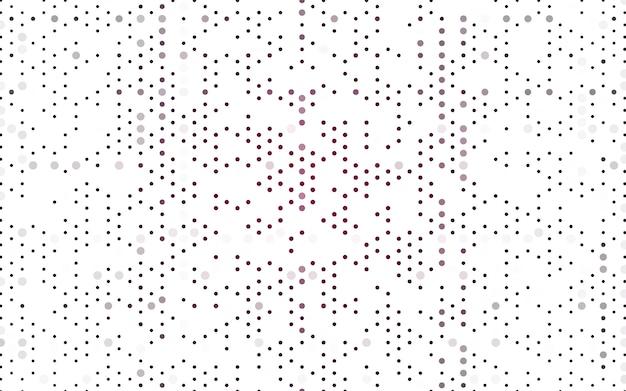 Illustrazione vettoriale viola scuro che consistono in cerchi