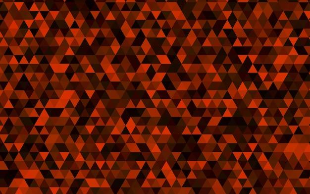 Modello di triangolo sfocato di vettore rosso scuro