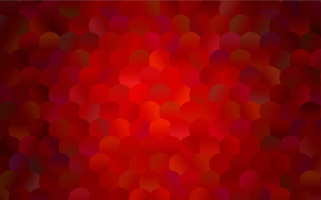Bandiera rossa di vettore rosso scuro con set di cerchi