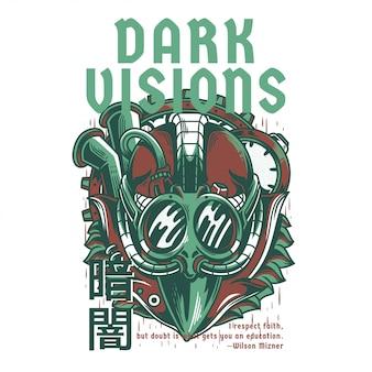 Dark visions light