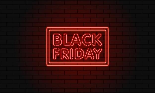 Banner web scuro per la vendita del black friday.