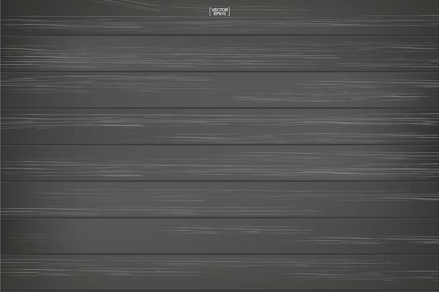Modello di legno scuro e texture di sfondo. Vettore Premium