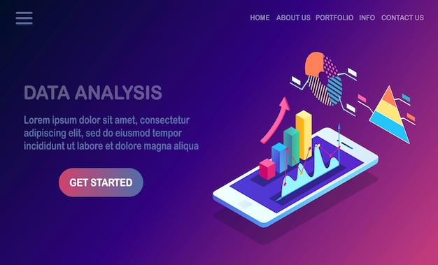 Analisi dei dati. reporting finanziario digitale, seo, marketing.