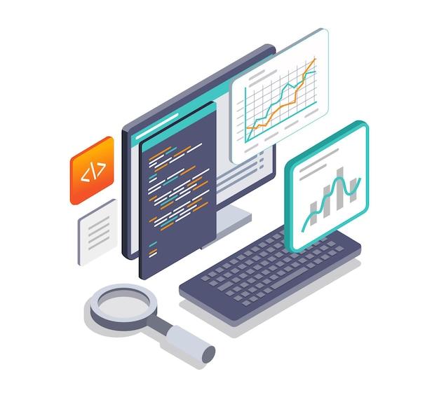 Programmatore di linguaggio per l'analisi dei dati