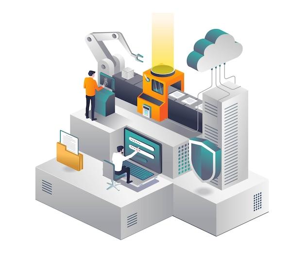 Piattaforma per l'elaborazione e la sicurezza dei dati