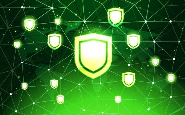 Concetto di privacy per la protezione dei dati