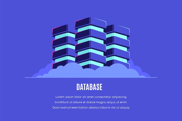Database, elaborazione dati.