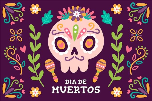 Tema di sfondo del giorno dei morti