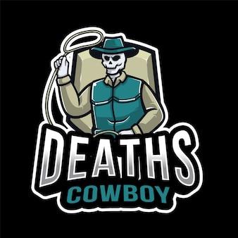 Logo di esport cowboy decessi