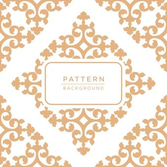 Decorativo elegante motivo ornamentale sfondo