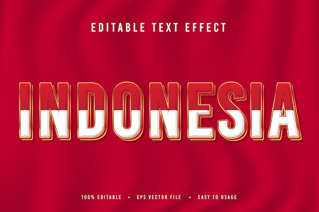 Carattere decorativo dell'indonesia