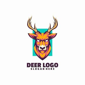 Logo della testa di cervo