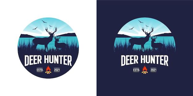 Logo di caccia al cervo