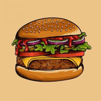 Burger delizioso