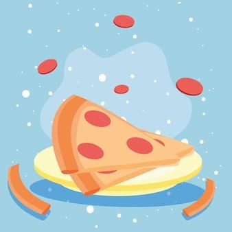 Pizza italiana deliziosa?