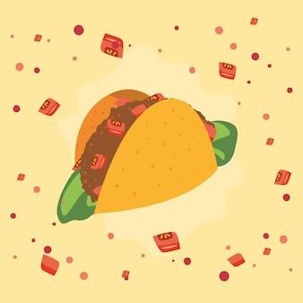 Deliziosi taco messicani