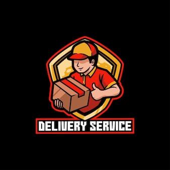 Consegna, cibo, corriere, servizio, affari, ordine, spedizione, pacco, casa, pacco, trasporto, veloce