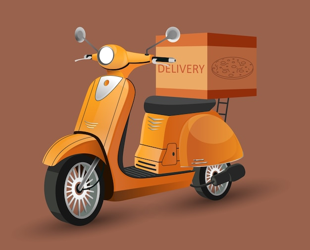 Consegna scooter