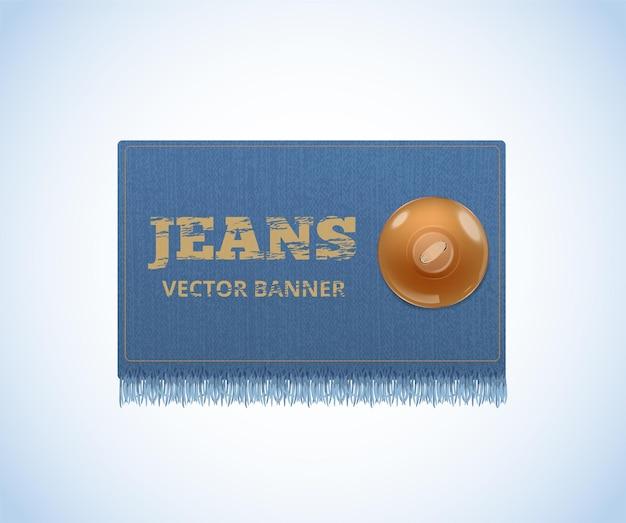 Trama denim. jeans realistici.