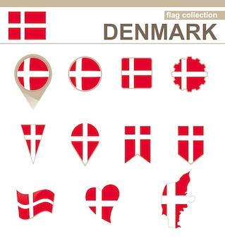 Collezione bandiera danimarca, versioni