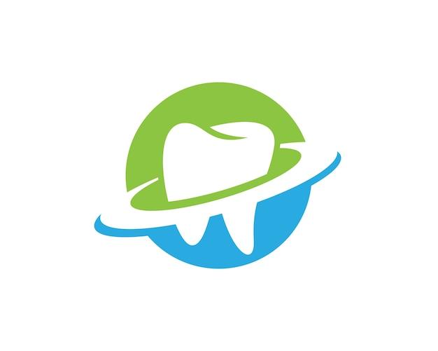 Template di logo dentale
