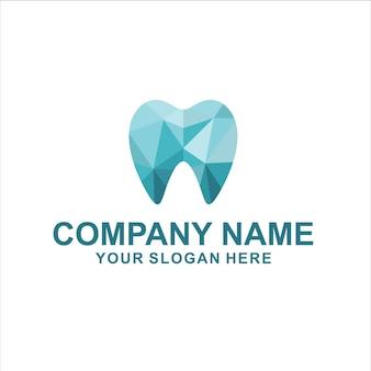 Vettore di logo dentale