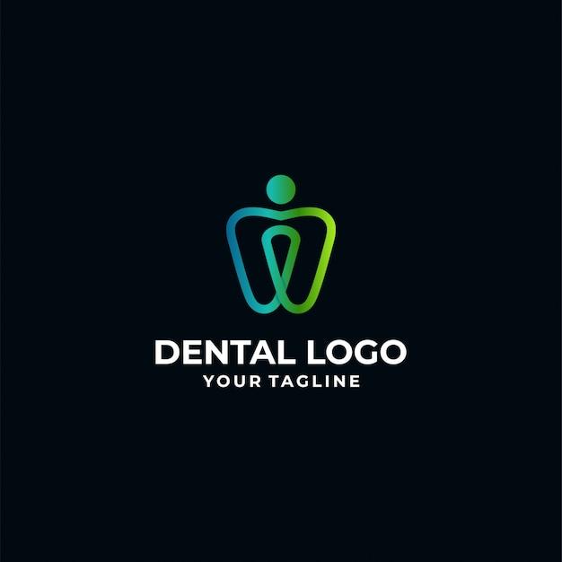 Modello di logotipo dentale