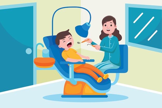 Professione di dentista