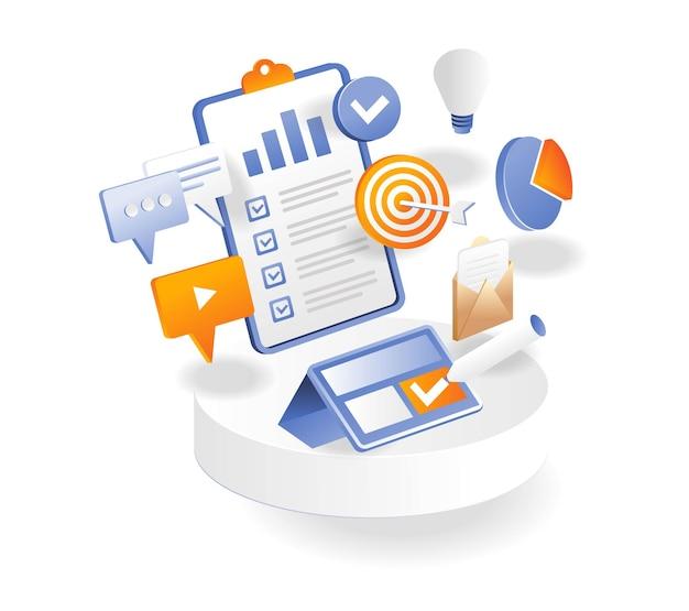 Progettare l'identità grafica del marchio e piani di marketing