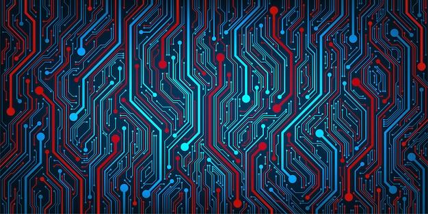 Design nel concetto di circuiti elettronici.