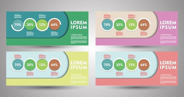 Progettazione di volantini, banner, brochure e carte