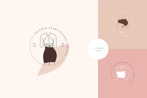 Loghi o emblemi del modello lineare di progettazione