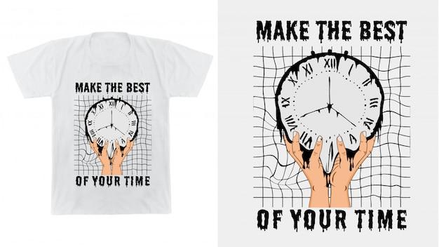 Design per maglietta stampata e altro ancora