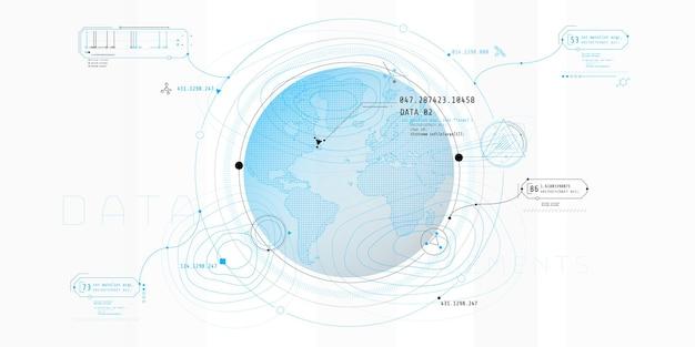 Progettazione dell'interfaccia software per la ricerca, il rilevamento o la geolocalizzazione di un oggetto.