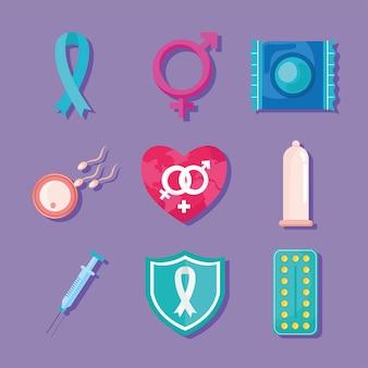 Disegni di metodi contraccettivi