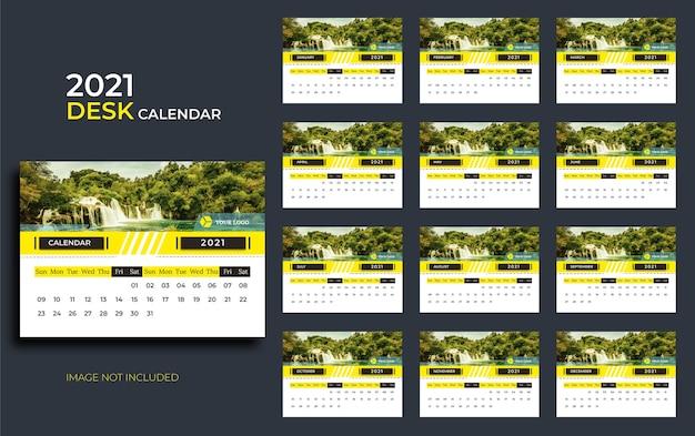 Calendario da tavolo per il 2021