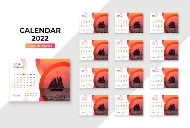 Calendario da tavolo 2022 modello premium