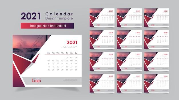 Disegno del calendario da tavolo