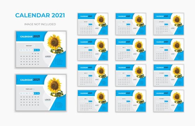 Calendario da tavolo nuovo anno 2021